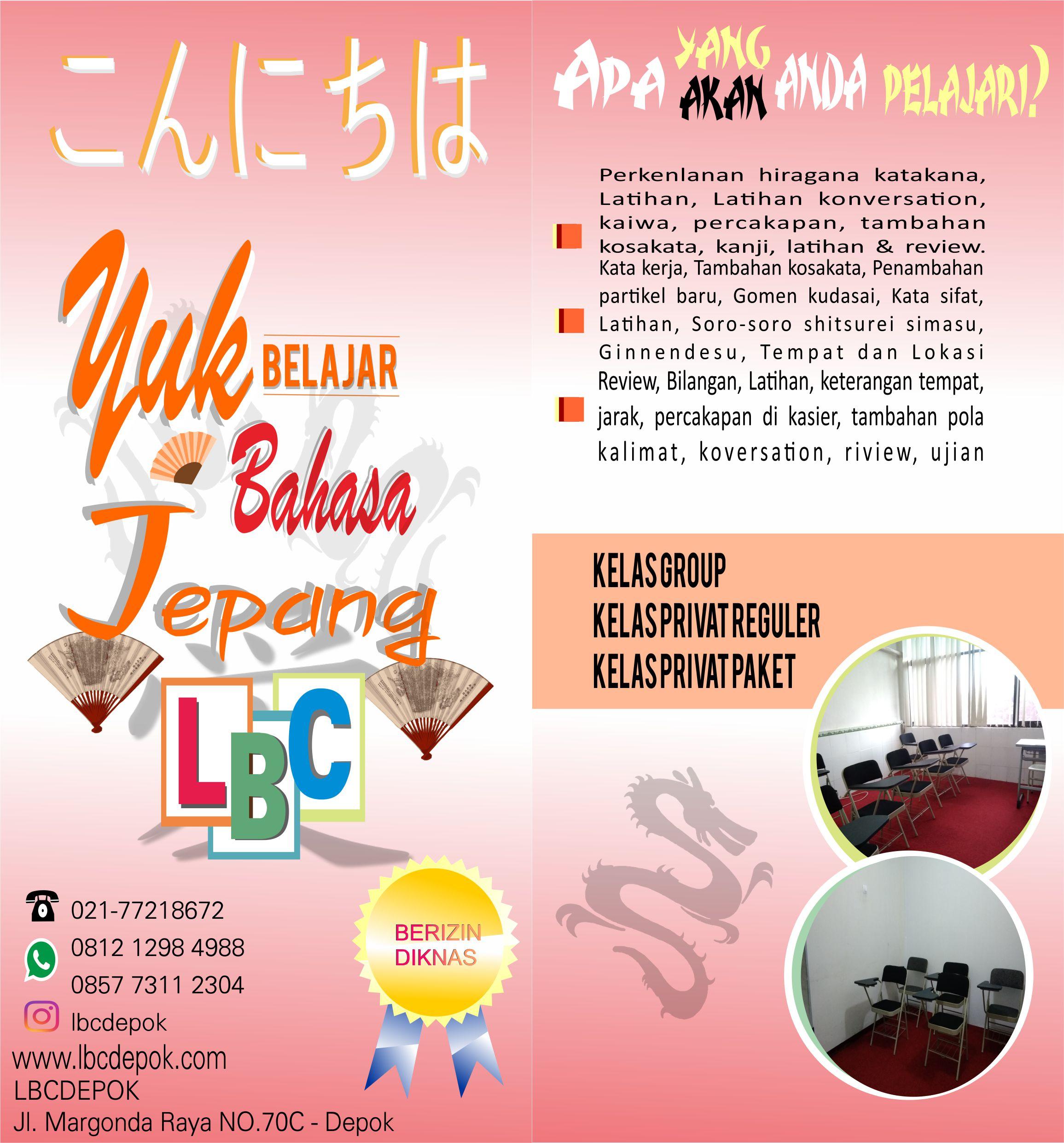 Program Bahasa Jepang